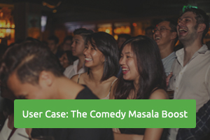 Find out how Peatix Boost has helped one of Singapore's largest comedy shows deliver laughs to a wider audience