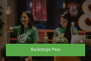 Backstage Pass: Community event for event organisers - come be inspired